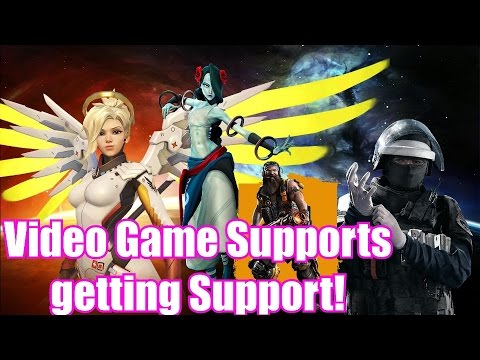 Support Classes making a Comeback in Video Games?!?