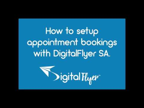 Appointment Bookings with Digitalflyer