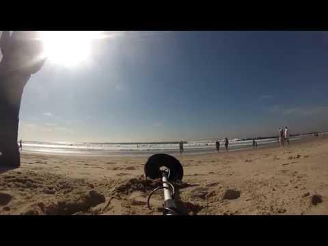 Santa Monica metal detector GoPro