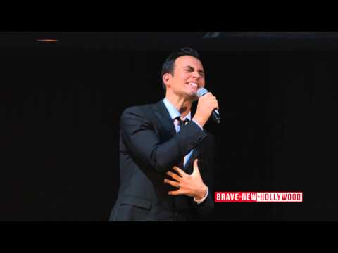 Cheyenne Jackson sings Your Song for Alfred Molina - Actors Fund 2015