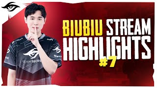 NOT EVERYTHING GOES SMOOTHLY // Secret BiuBiu Stream Highlights # 7