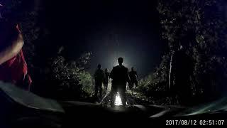 Jeziorki/Rytel - burza 11 sierpnia - video z samochodu uwięzionego na DK22