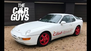 Porsche 968 Club Sport (1994) - track weapon or old duffer?
