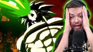 Transforming DBS Broly Gameplay Looks INSANE in Dragon Ball FighterZ
