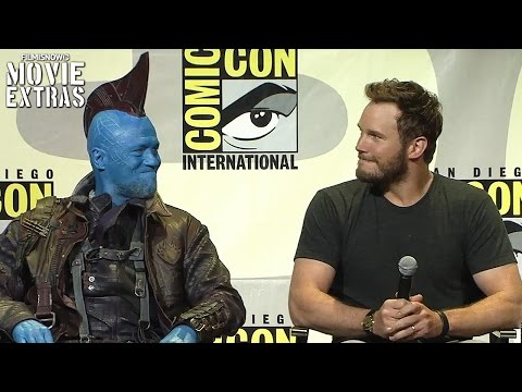 Guardians of Galaxy Vol.2 - Panel Highlights and Interviews at Comic-Con 2016 [Marvel]