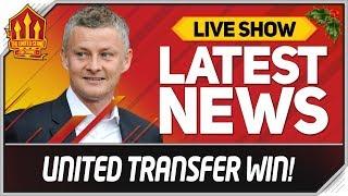 Man Utd Win Solskjaer Transfer Battle! Man Utd News Now