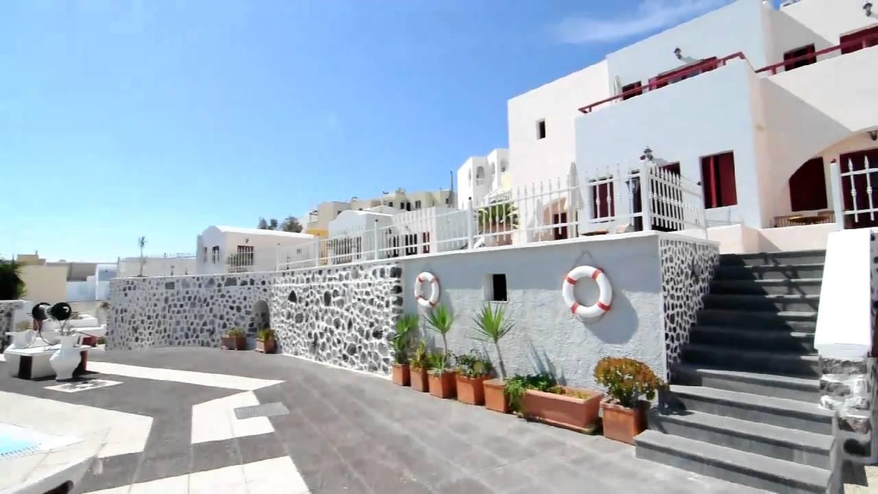 Dream Island Hotel Santorini Greece Youtube