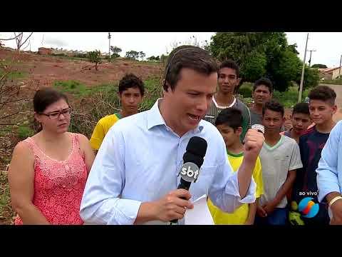 JMD - 11/11/17 -  Erosão toma conta do...