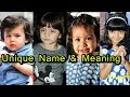 Famous Bollywood Star Kids Name and their Meaning | 2018