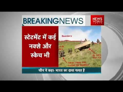 Sikkim standoff: China tells India to pull back troops from Doklam