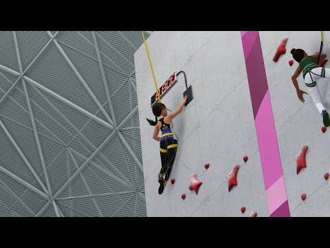 Olympic Games Tokyo 2020: The Official Video Game Gameplay - Sport Climbing |