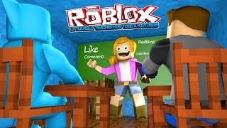 ROBLOX - LITTLE KELLY TEACHES US HOW TO BECOME A YOUTUBER!!!