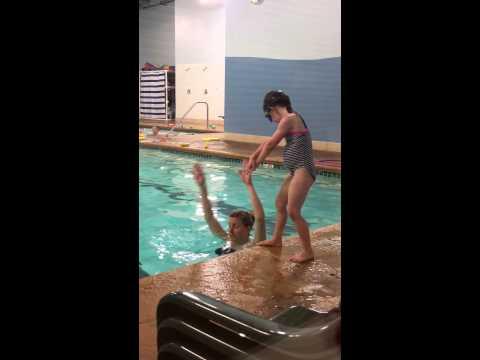 Ali diving 2