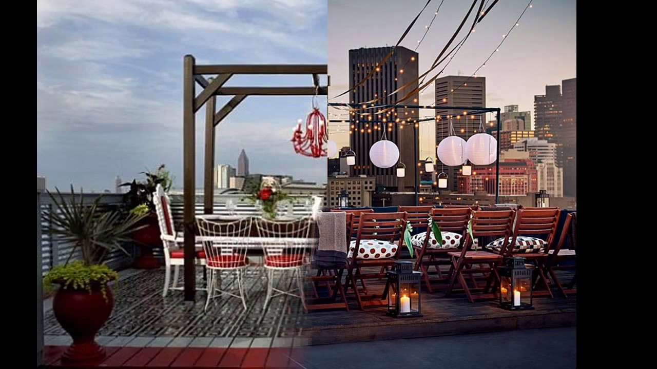 Rooftop party decoration ideas easy decorating a rooftop for Terrace party decoration