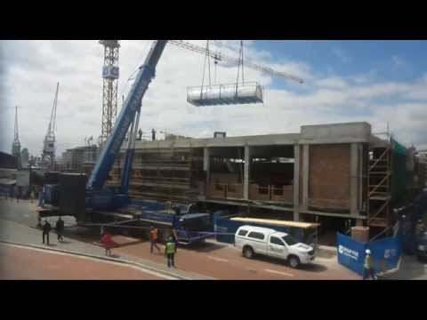 New tunnel feature arrives at Two Oceans Aquarium