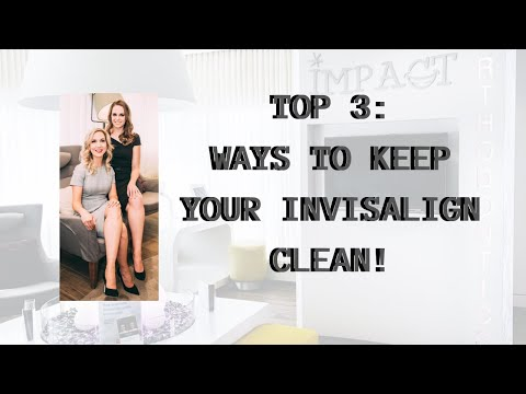 Top 3 Ways To Keep Your Invisalign Aligners Clean!