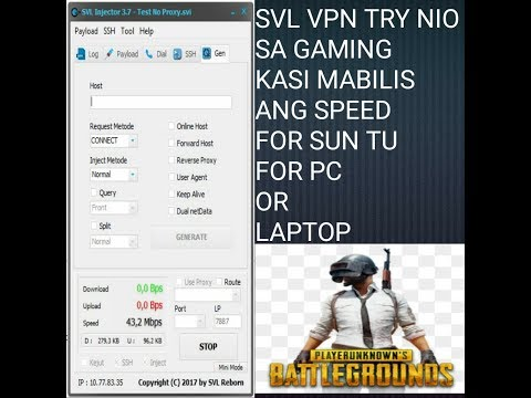 SVL FOR PC VPN HIGHSPEED SUN PROMO TU