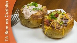 BATATA RECHEADA - Receita de baked potato (Episódio #68)