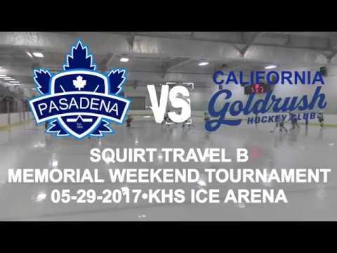 CHAMPIONSHIP GAME. Pasadena Maple Leafs vs California Goldrush. Squirt Travel B (05-29-2017)