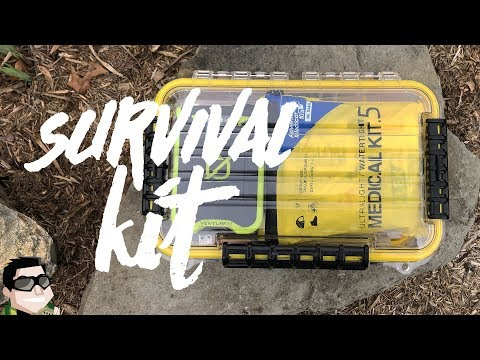 Waterproof Survival Kit for Boating, Kayaking & Canoeing