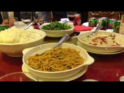 Chinese wedding food - YouTube