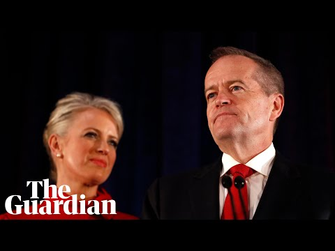 &39;Carry on the fight&39;: Bill Shorten concedes defeat in Australian election–