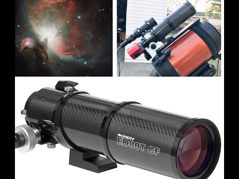 Orion ED80T Telescope Review, Setup, First Image