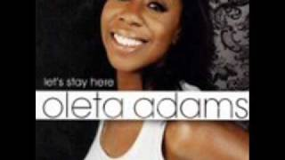 Watch Oleta Adams Picture You The Way That I Do video