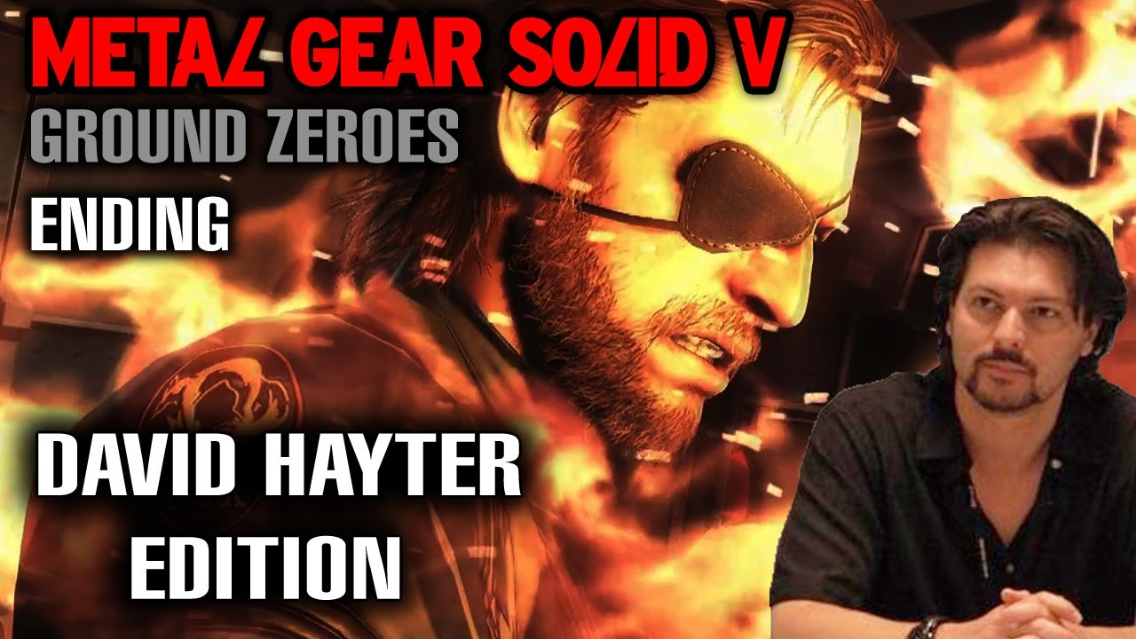 Fans Place David Hayter Into Ground Zeroes Ending