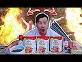 DIY GIANT COFFEE AND SPARKLER FIREBALL SCIENCE EXPERIMENT!!!