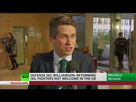 Williamson: Returning ISIL fighters are not welcome in the UK