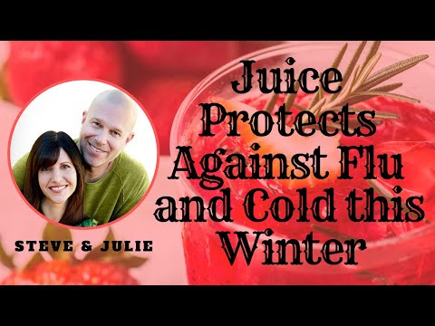 Juice Protects Against Flu and Cold this Winter