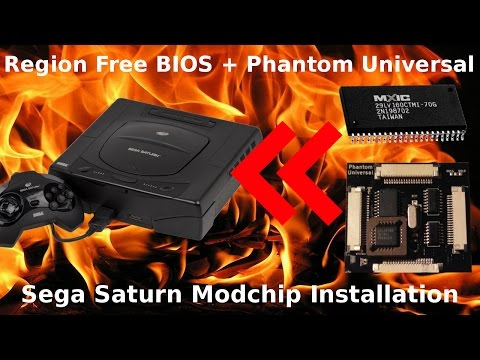 How to Install a Region Free BIOS and Modchip in Your Saturn