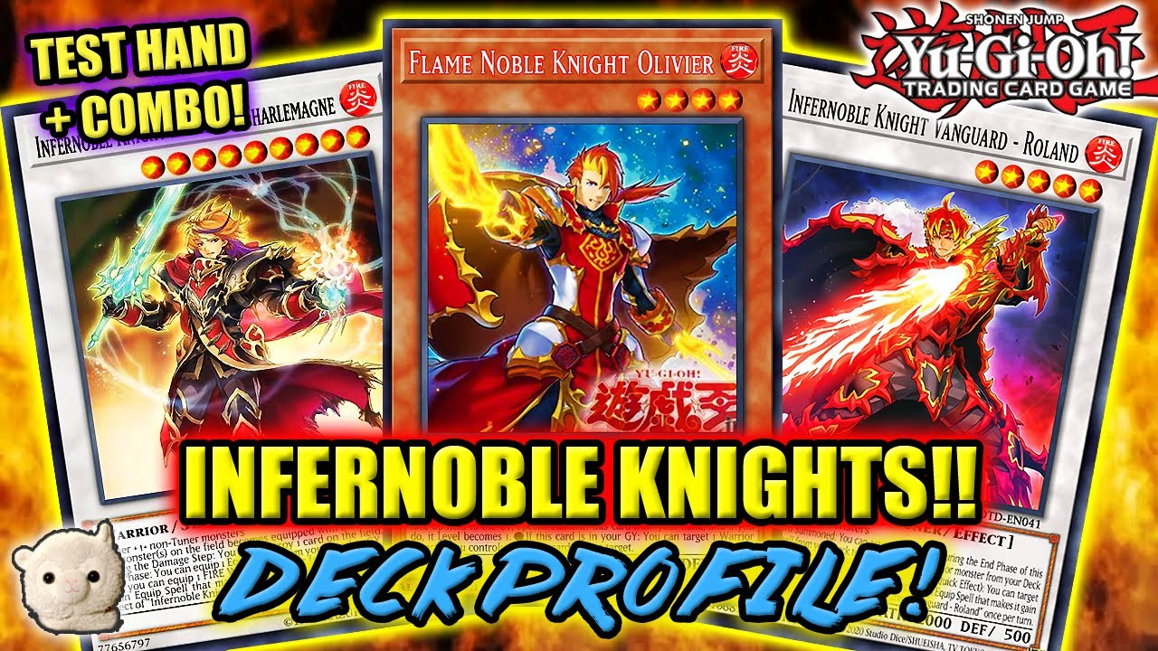 *NEW* Yu-Gi-Oh! INFERNOBLE KNIGHT DECK PROFILE! w/ Combo Tutorial & Test Hand!! +GIVEAWAY WINNER!!