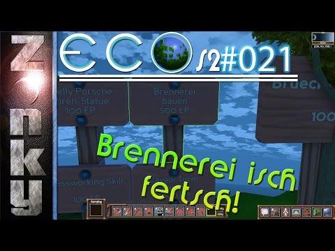 🌍ECO S2/021 Steinbrennerei ist FERTIG! | deutsch | HD | Alpha 5.5