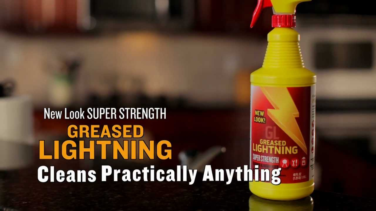 Greased Lightning Super Strength Web Campaign - YouTube