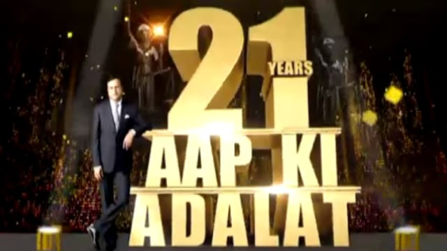 Aap Ki Adalat Celebrating 21st Anniversary (Full Episode) - India TV