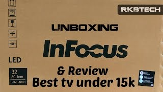 Video Hindi | InFocus 32 Inch LED TV Unboxing and Review | Best TV under 15k download MP3, 3GP, MP4, WEBM, AVI, FLV Juli 2018
