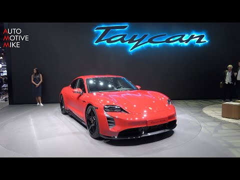 THIS IS THE NEW PORSCHE TAYCAN - IAA 2019