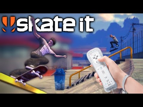SKATE IT on the Wii   Skating Barcelona, London, Paris, San Fransisco, Shanghai, Rio and more!