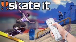 SKATE IT on the Wii | Skating Barcelona, London, Paris, San Fransisco, Shanghai, Rio and more!