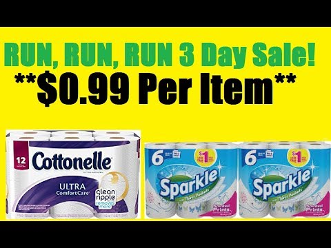 Watch Now! Breakdowns Cottonelle & Sparkle Instant Savings at Dollar General