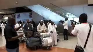 Magal 2018 : Arrivée du vol spécial des fidèles mourides de la diaspora (Aéroport Blaise Diagne)