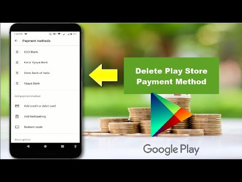 How To Remove Payment Method From Google Play Store In Android