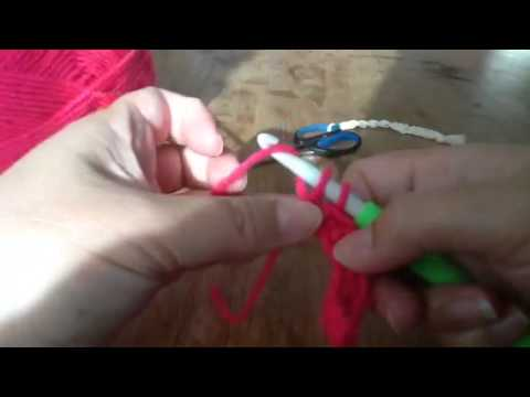 Haken Losse Vaste Häkeln Crochet Chains Single Youtube