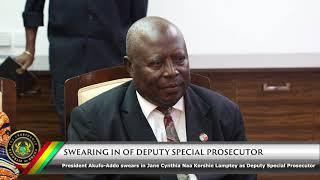 Swearing in of Deputy Special Prosecutor