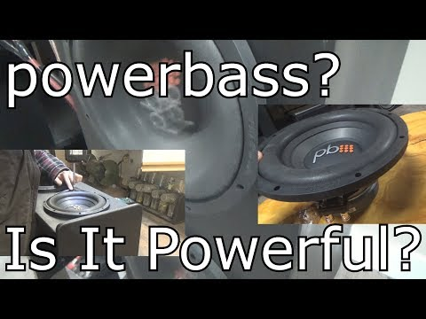 """A Look At The Powerbass S-1004 10"""" (Two Of Them)"""