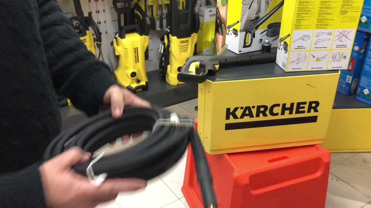 Nuevo-Karcher K Lavadora a Presión Manguera haga clic clic-K4 Premium completo control Home