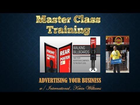 2016 6 4 recording Advertising your business K  Williams