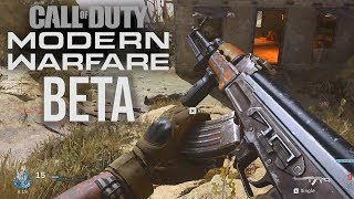 Modern Warfare Gameplay! (THE BETA IS LIVE!)